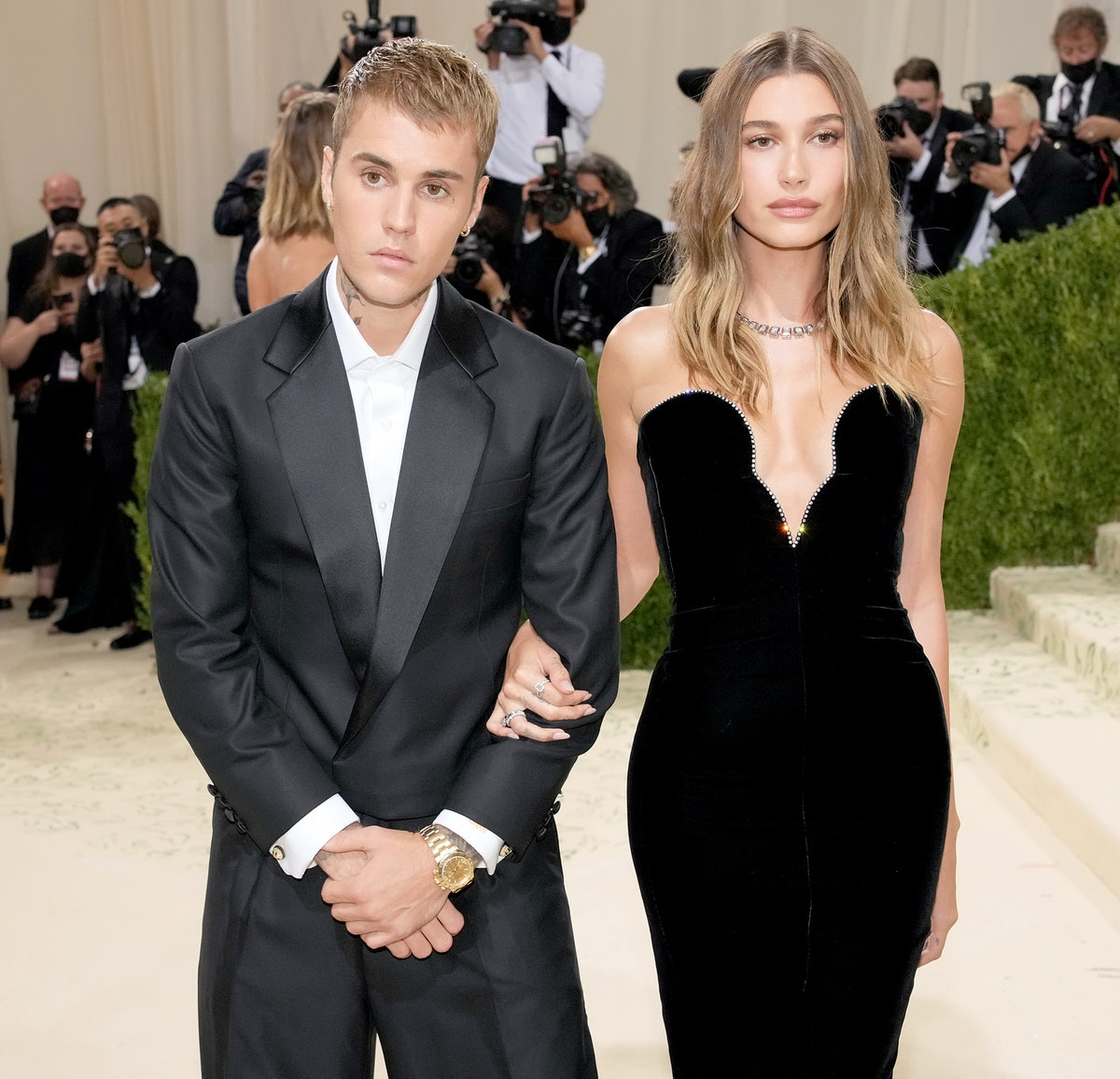 """Hailey Bieber's response to rumors Justin """"mistreats"""" her sets the record straight."""