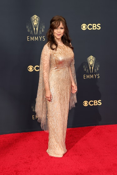 LOS ANGELES, CALIFORNIA - SEPTEMBER 19: Rosie Perez attends the 73rd Primetime Emmy Awards at L.A. L...