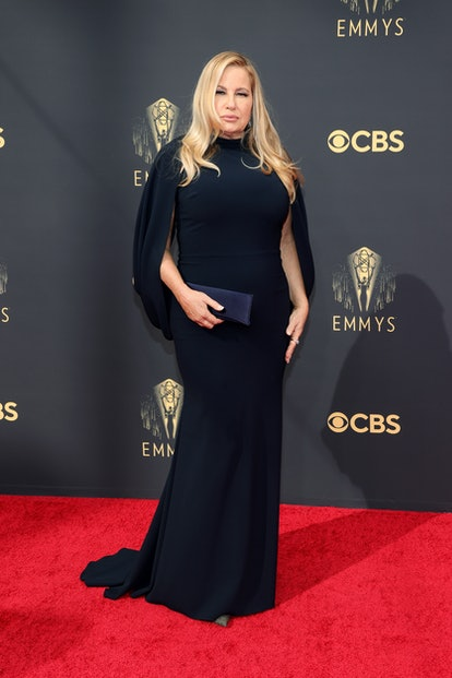 LOS ANGELES, CALIFORNIA - SEPTEMBER 19: Jennifer Coolidge attends the 73rd Primetime Emmy Awards at ...