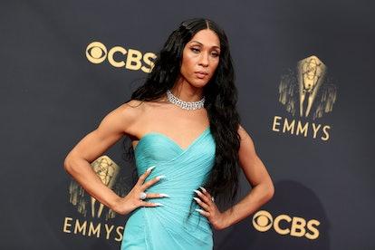 LOS ANGELES, CALIFORNIA - SEPTEMBER 19: Michaela Jaé Rodriguez attends the 73rd Primetime Emmy Award...