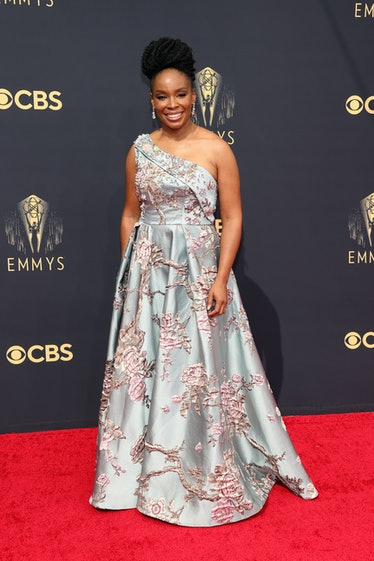 LOS ANGELES, CALIFORNIA - SEPTEMBER 19: Amber Ruffin attends the 73rd Primetime Emmy Awards at L.A. ...