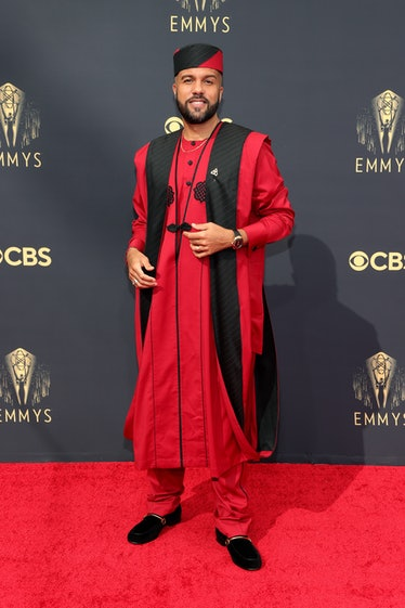 LOS ANGELES, CALIFORNIA - SEPTEMBER 19: O-T Fagbenle attends the 73rd Primetime Emmy Awards at L.A. ...