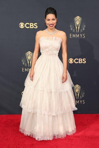LOS ANGELES, CALIFORNIA - SEPTEMBER 19: Jurnee Smollett attends the 73rd Primetime Emmy Awards at L....