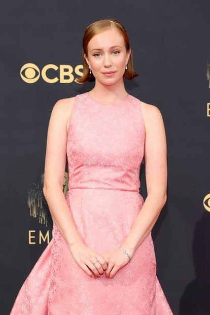 LOS ANGELES, CALIFORNIA - SEPTEMBER 19: Hannah Einbinder attends the 73rd Primetime Emmy Awards at L...