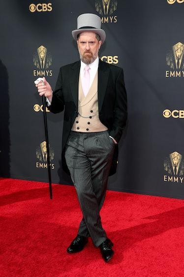 LOS ANGELES, CALIFORNIA - SEPTEMBER 19: Brendan Hunt attends the 73rd Primetime Emmy Awards at L.A. ...