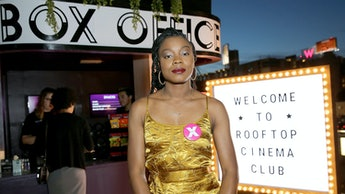 """LOS ANGELES, CA - APRIL 01:  """"Little Woods"""" Writer and Director Nia DaCosta attends the Los Angeles ..."""