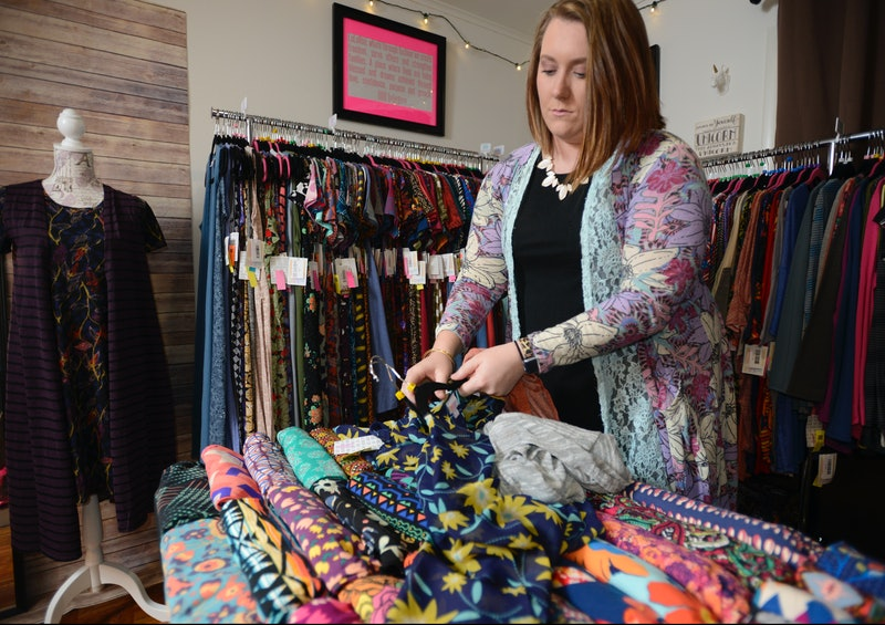 Hall assembles a look with different pieces.Samantha Hall of Cumru Township works a full-time job bu...