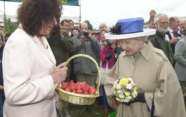 Queen Elizabeth loves a raspberry fool.