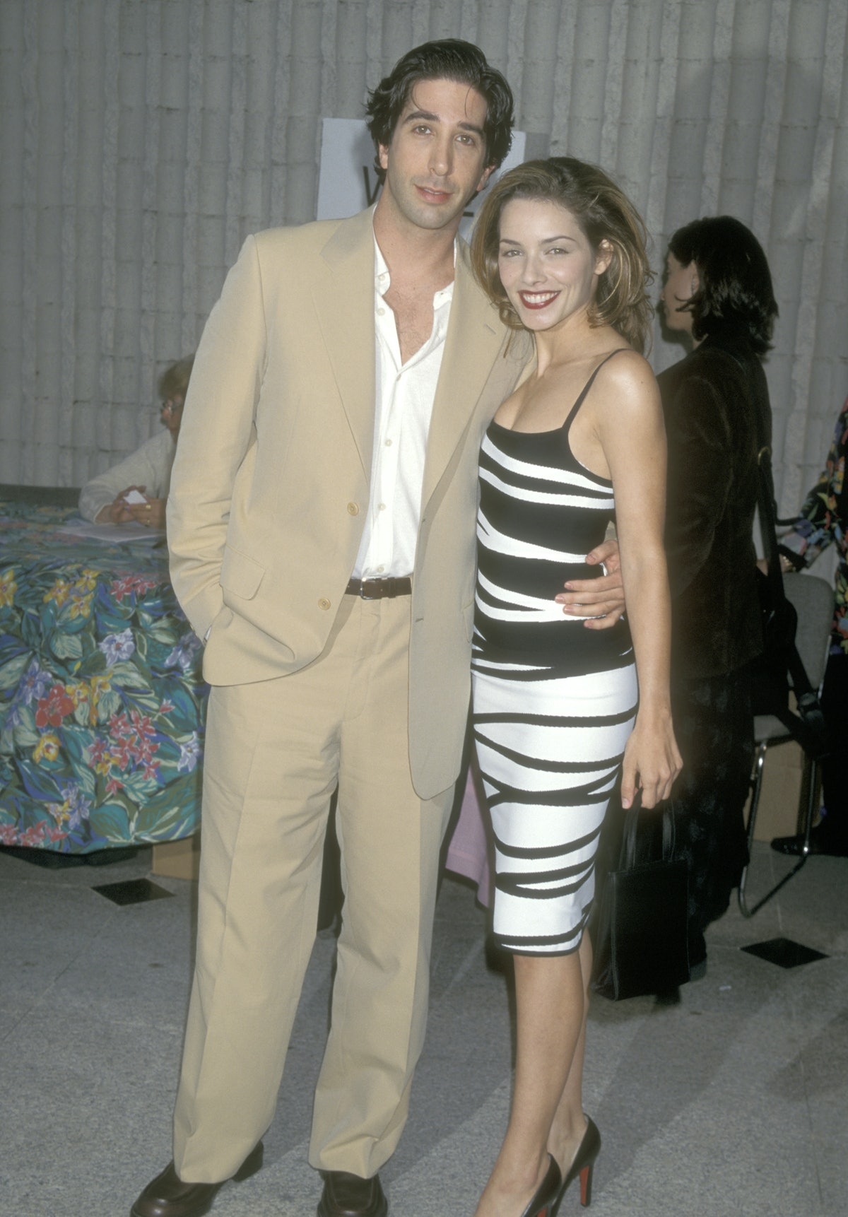 David Schwimmer and Mili Avital dated.