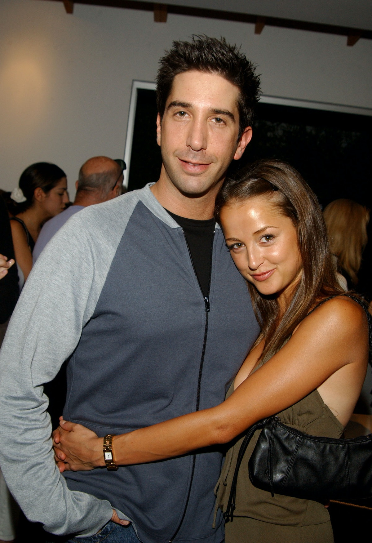 David Schwimmer and Carla Alapont dated.