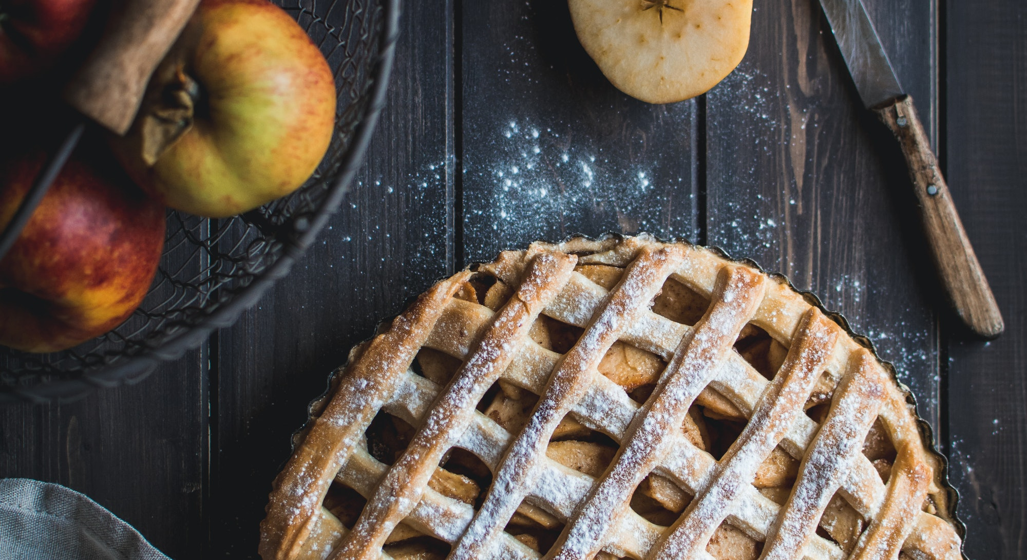 Apple recipes like classic apple pie are perfect for fall.