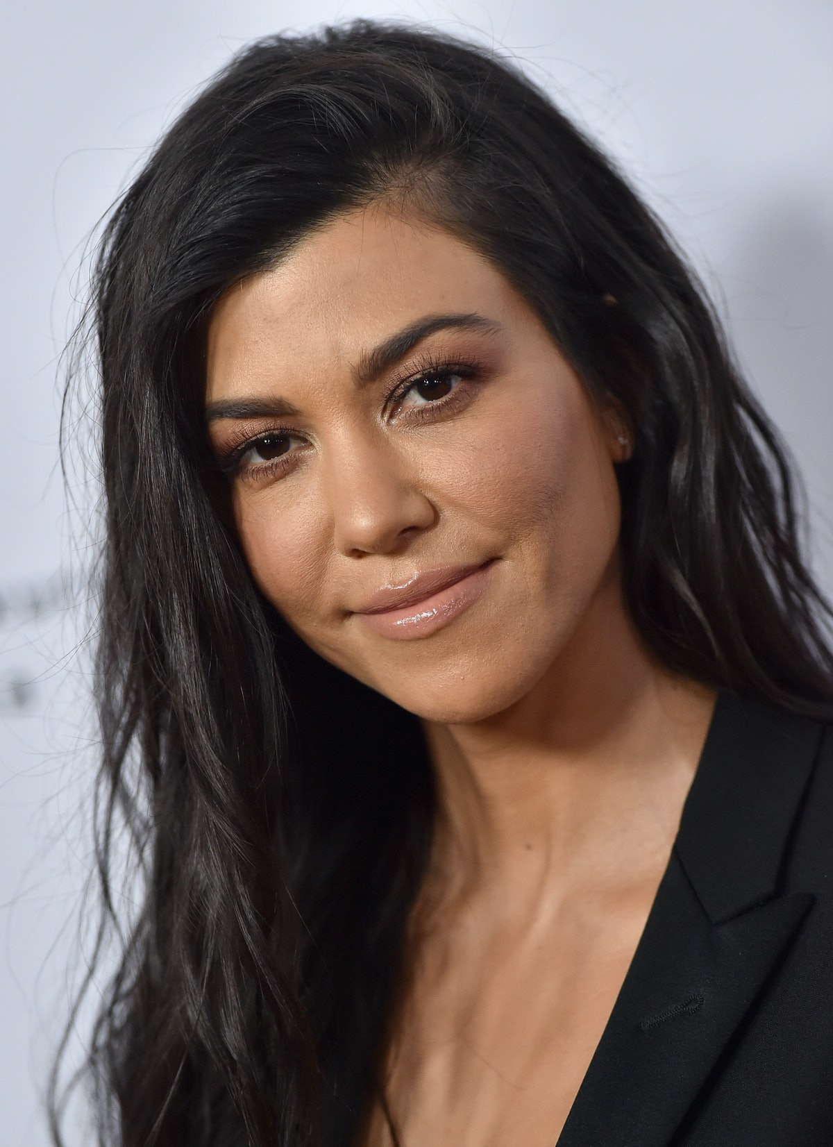 HOLLYWOOD, CA - APRIL 12:  TV personality Kourtney Kardashian arrives at the Premiere of Open Road F...