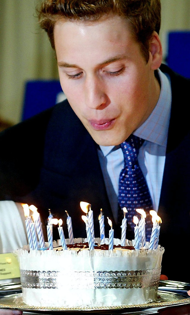Prince William loves a chocolate biscuit cake.