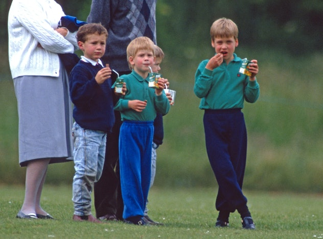 Prince William and Prince Harry love caramel banana cake.