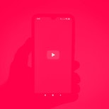 BRAZIL - 2021/02/08: In this photo illustration the YouTube logo seen displayed on a smartphone scre...