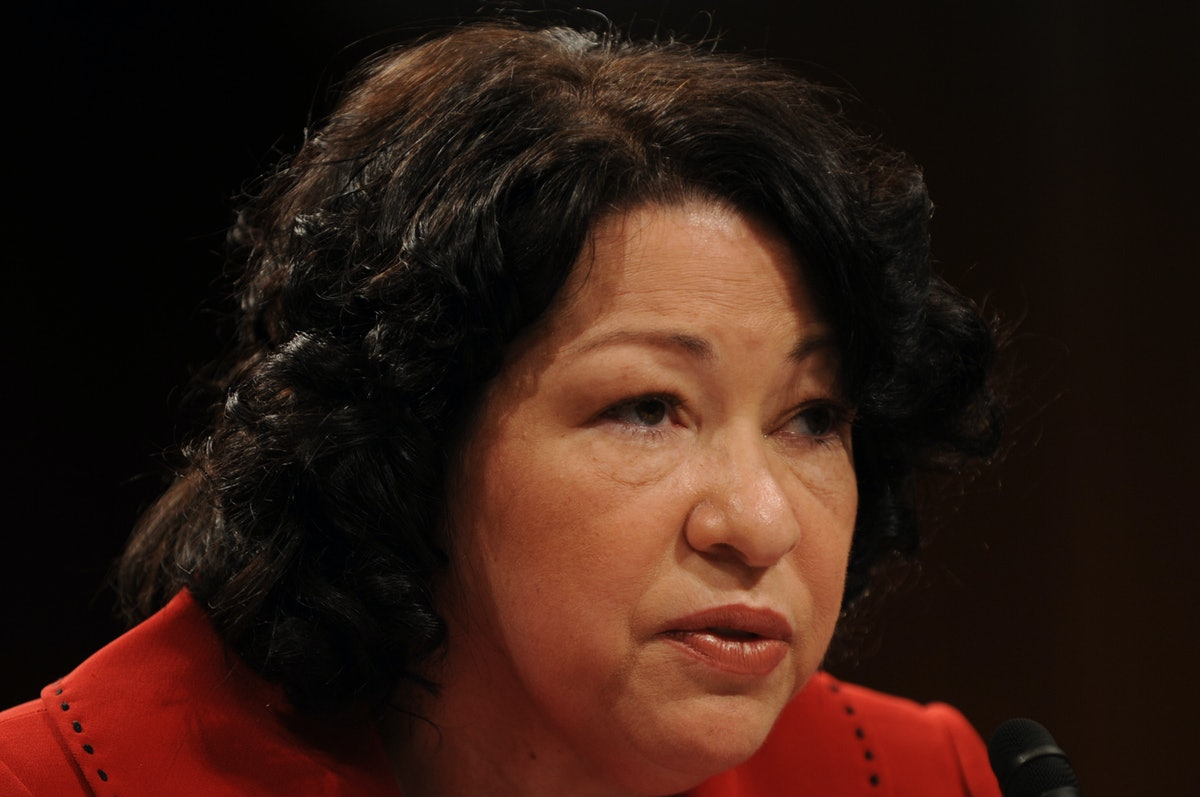 Supreme Court nominee Judge Sonia Sotomayor testifies during day two, at her U.S. Senate Judiciary C...