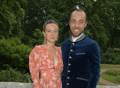 Alizee Thevenet and James Middleton attend the Bvlgari Magnifica Gala in London, England in June, mo...