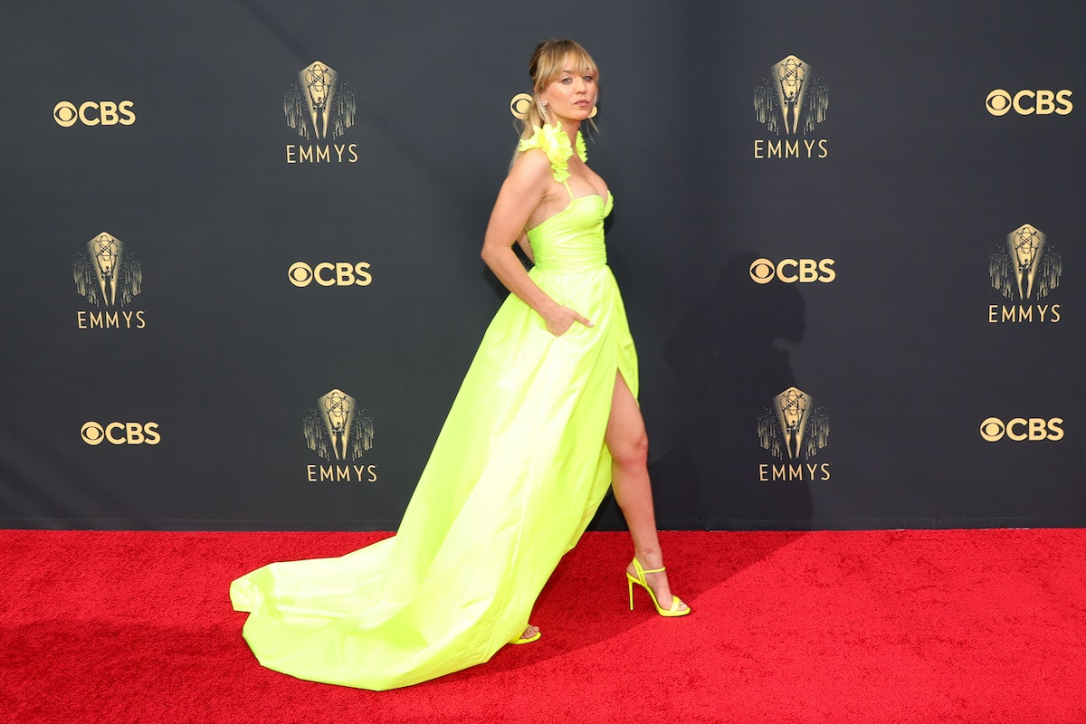 The 2021 Emmy Awards red carpet was full of looks with slits. Ahead, find the best leg-baring moment...