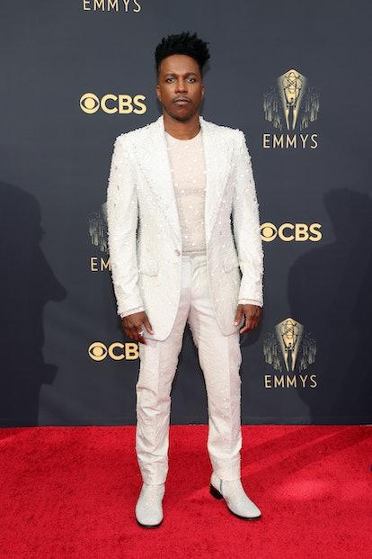 LOS ANGELES, CALIFORNIA - SEPTEMBER 19: Leslie Odom Jr. attends the 73rd Primetime Emmy Awards at L....