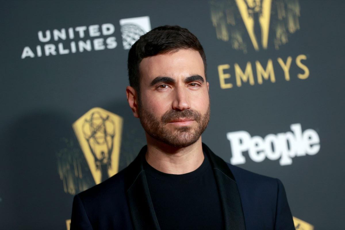 Brett Goldstein attending the 2021 Emmys where he won gave a bleeped out speech.