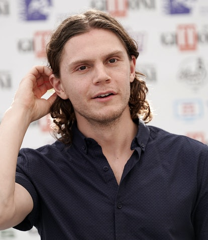 Evan Peters in 2019, who won his first Emmy in 2021.