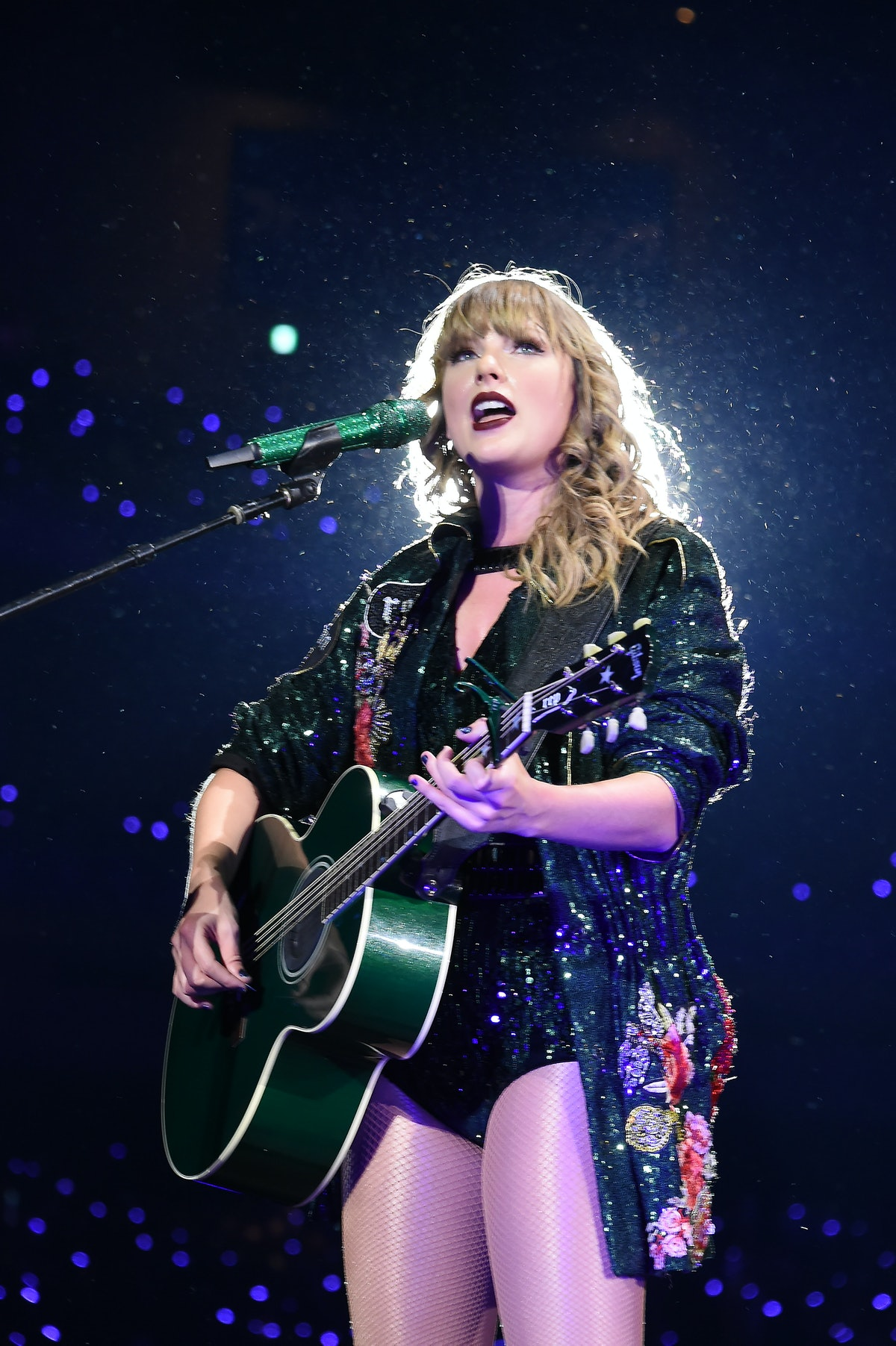 TOKYO, JAPAN - NOVEMBER 20:  Taylor Swift performs at Taylor Swift reputation Stadium Tour in Japan ...