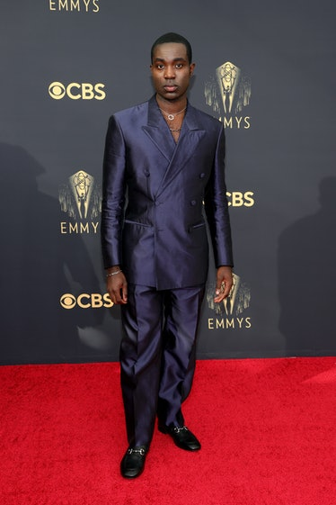 LOS ANGELES, CALIFORNIA - SEPTEMBER 19: Paapa Essiedu attends the 73rd Primetime Emmy Awards at L.A....