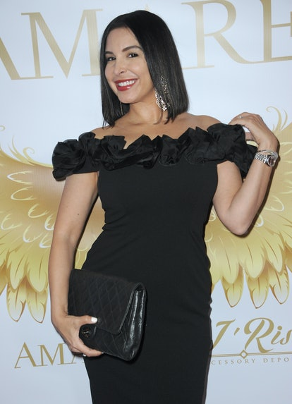 Model and singer Mayra Veronica, who used to date Britney Spears' fiancé Sam Asghari, attends the Am...