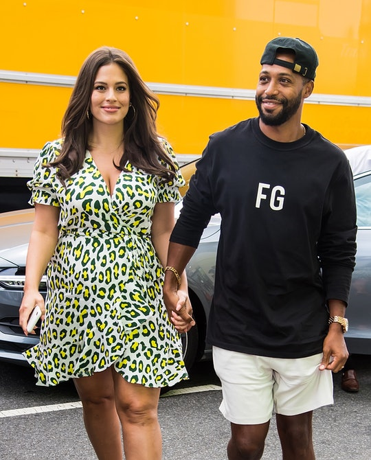 NEW YORK, NY - SEPTEMBER 10:  Model Ashley Graham and film director Justin Ervin are seen arriving t...