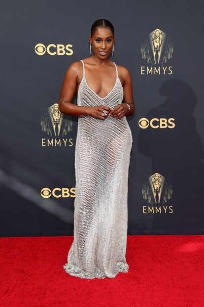 LOS ANGELES, CALIFORNIA - SEPTEMBER 19: Issa Rae attends the 73rd Primetime Emmy Awards at L.A. LIVE...