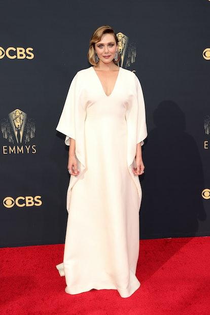 Elizabeth Olsen attends the 73rd Primetime Emmy Awards