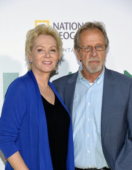 Jean Smart thanked her late husband, Richard Gilliland, while accepting her speech at the 2021 Emmy ...