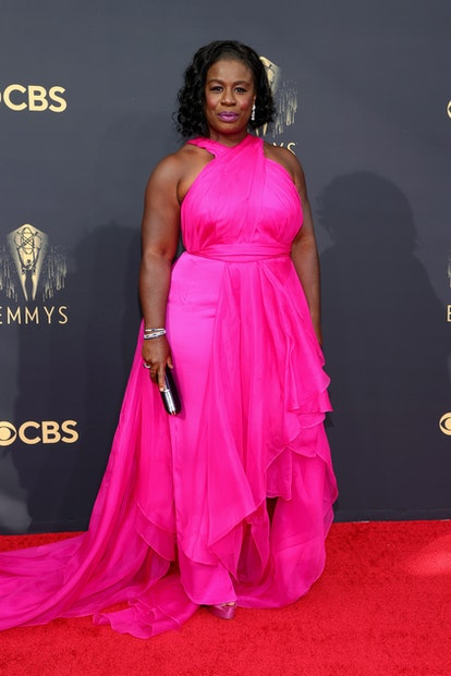 Several ensembles from the 2021 Emmys red carpet honored a decade that's dominating both the runways...