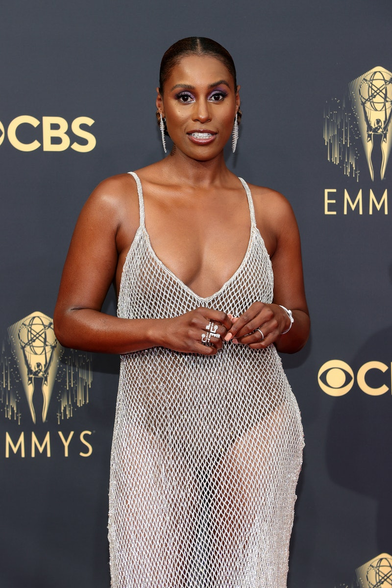 Issa Rae's 2021 Emmys makeup look features a $7 mascara.