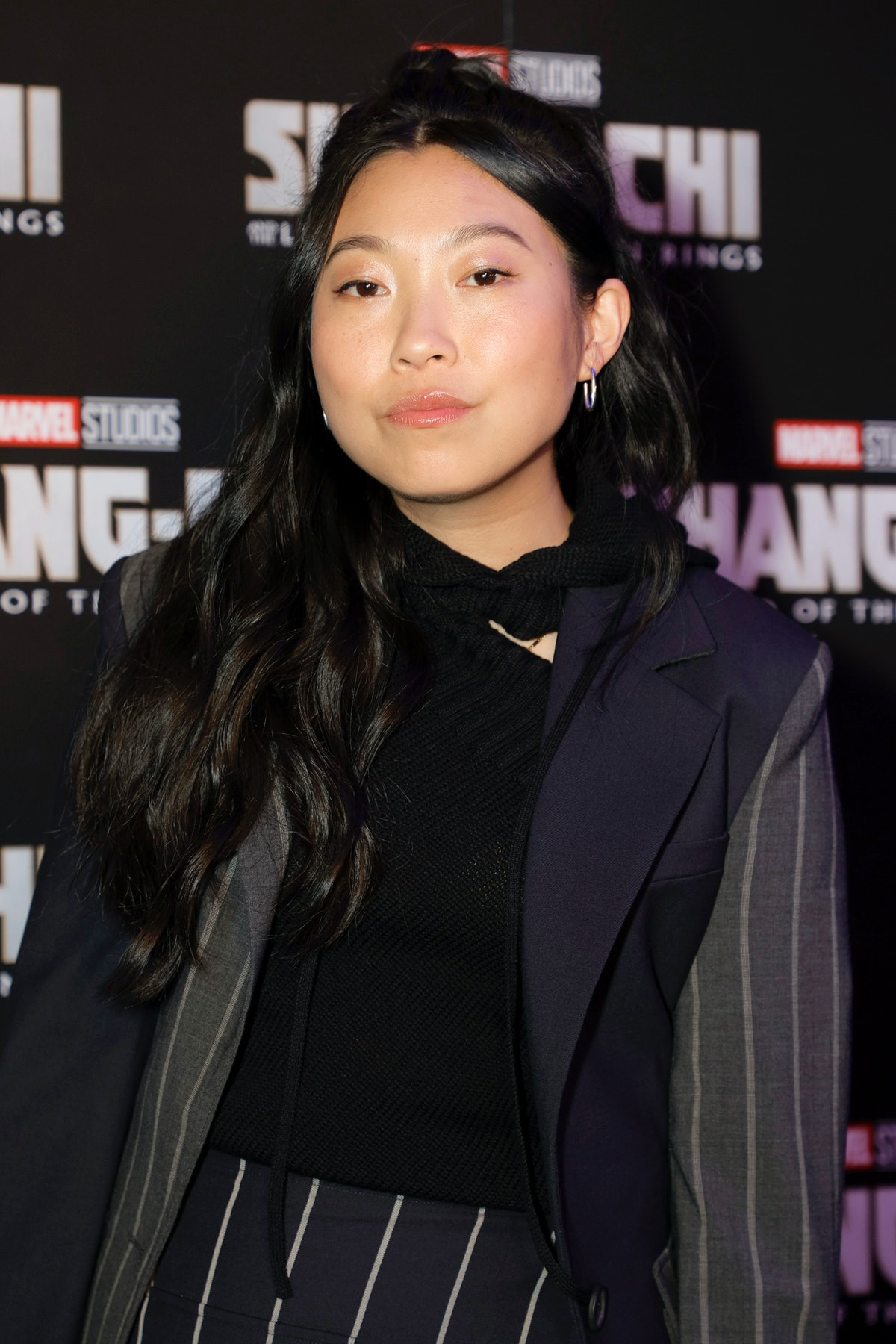 NEW YORK, NEW YORK - AUGUST 30: Awkwafina attends the Gold House special screening of Marvel Studios...