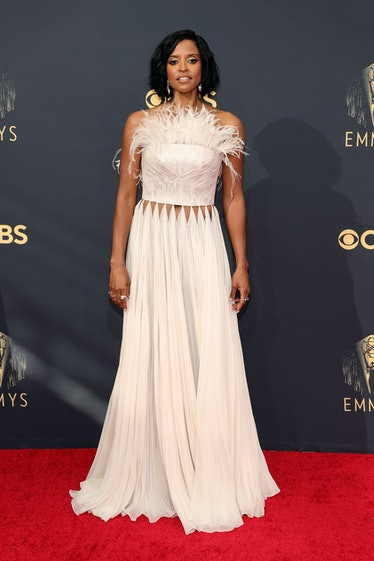 LOS ANGELES, CALIFORNIA - SEPTEMBER 19: Renee Elise Goldsberry attends the 73rd Primetime Emmy Award...