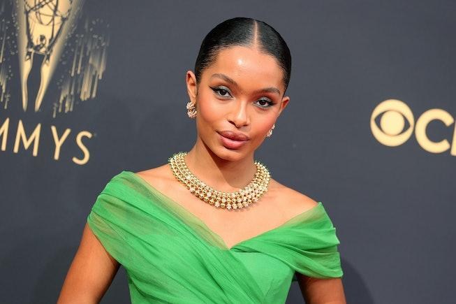 LOS ANGELES, CALIFORNIA - SEPTEMBER 19: Yara Shahidi attends the 73rd Primetime Emmy Awards at L.A. ...