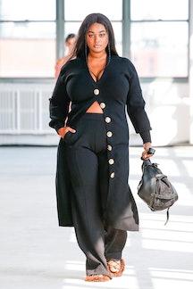 NEW YORK, NEW YORK - SEPTEMBER 12: A model walks the runway during the Altuzarra Ready to Wear Sprin...