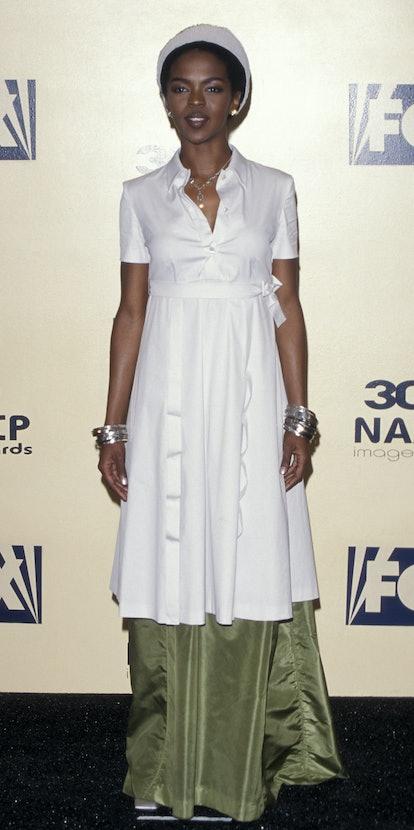 Lauryn Hill during 30th Annual NAACP Image Awards at Pasadena Civic Auditorium in Pasadena, Californ...