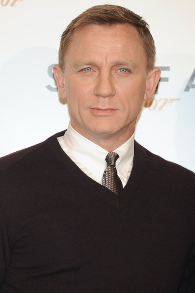 British actor Daniel Craig during the Skyfall film photocall at Hotle St. Regis. Rome (Italy), Octob...