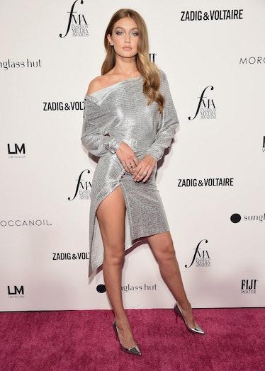 NEW YORK, NY - SEPTEMBER 06:  Model Gigi Hadid attends the Daily Front Row's 2018 Fashion Media Awar...