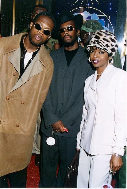 The Fugees Pras, Wyclef Jean & Lauryn Hill   (Photo by Jeff Kravitz/FilmMagic)