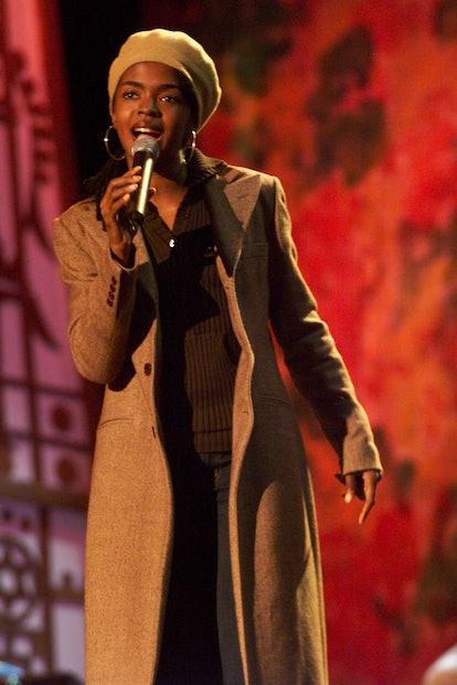 Lauryn Hill during One Love-The Bob Marley Tribute in Oracabessa Beach, Jamaica. (Photo by KMazur/Wi...