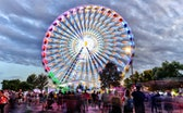 Falcon Heights, MN, USA. 09/02/2018: The Annual Minnesota State Fair, also known as Great Minnesota ...