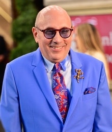"""NEW YORK, NEW YORK - JULY 24:  Willie Garson seen on the set of """"And Just Like That..."""" the follow u..."""
