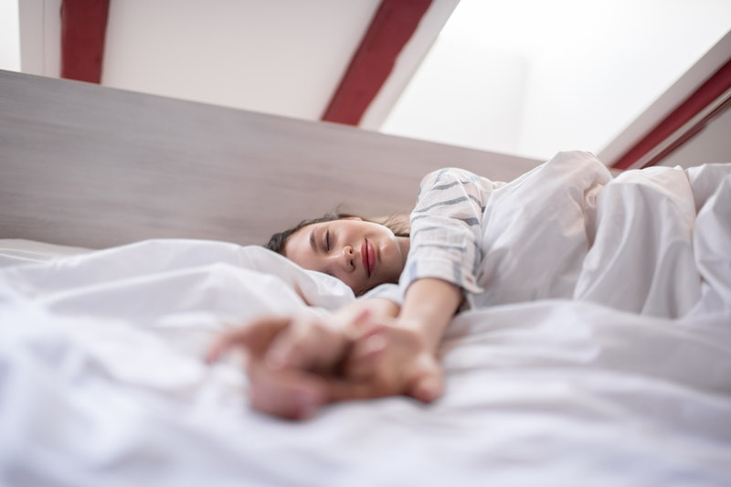 Woman has dream about someone during lucid dreaming. Here's how to dream about someone.