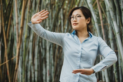 Comparing tai chi vs. qi gong, two forms of gentle movement that are connected to the breath.