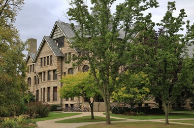 Built in 1886, the college residence hall in one of the oldest building on campus. Oberlin College i...