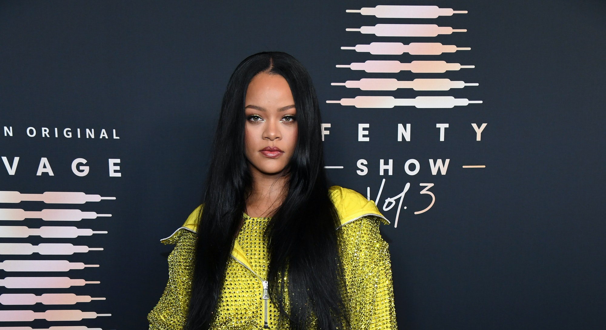 LOS ANGELES, CALIFORNIA - SEPTEMBER 22: In this image released on September 22, Rihanna attends Riha...