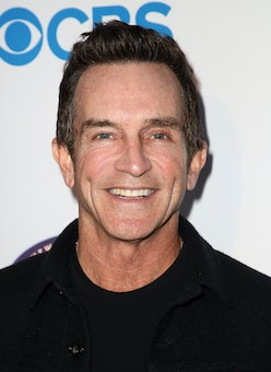 """HOLLYWOOD, CALIFORNIA - FEBRUARY 10: Jeff Probst attends the premiere of CBS' """"Survivor"""" 20th Season..."""